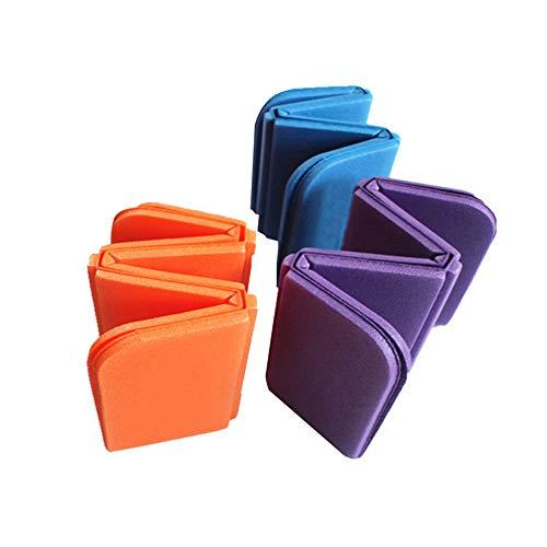 Almohadillas de Asiento de Espuma Plegable de 3 Piezas Impermeables cojín portátil para Picnic de Camping en el Parque al Aire Libre
