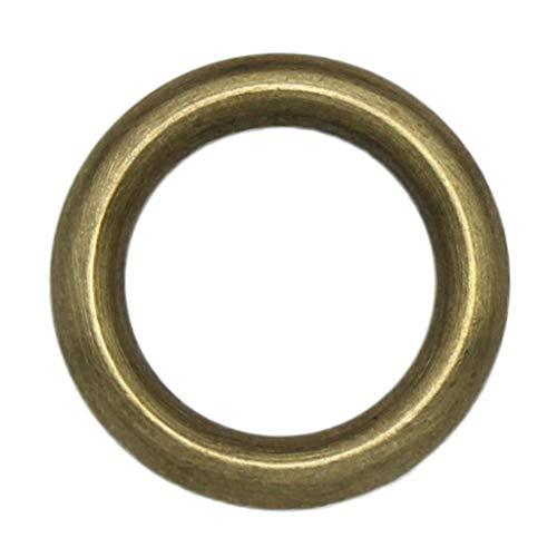 Nahtloser Kupferring Massiv Reines Kupfer Ring Griff Zubehör Messing Kreis Lederring Ohne Schnittstelle DIY Kupferring 1 Stück