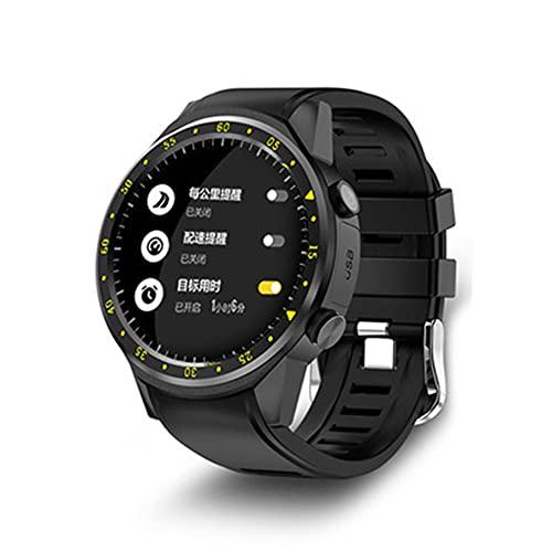 DLBJ Smartwatch Reloj Inteligente Hombres Mujer con Monitor de Sueño Presión Arterial Pulsómetros,1.3inch Pantalla Táctil Impermeable IP67 Reloj Deportivo Hombre Caloría Podómetro para Android iOS