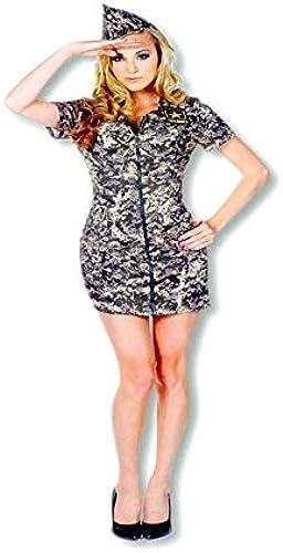 Horror-Shop U.S.Army Camo Dress XL