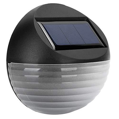 WNSC Lámpara de Pared Solar, iluminación Decorativa de Paisaje con Poca luz, Resistencia al Calor, luz Solar al Aire Libre, Vallas de Balcones para escaleras(White Light)