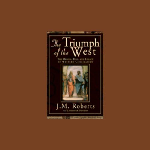 The Triumph of the West audiobook cover art