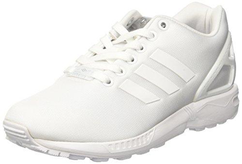 adidas adidas Damen ZX Flux Trainer Low, Weiß (FTWR White/FTWR White/FTWR White), 39 1/3 EU