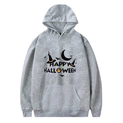 Halloween Kapuzenpullover Paares Damen Hoodie Sweatshirt Herren Pullover Mit Kapuzen Mode Druck Party Langarm Tops CICIYONER
