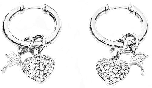 Joop! Damen-Ohrhänger 925 Sterling Silber JPCO90114A000