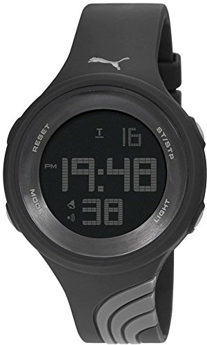 PUMA TIME Digitale al Quarzo Orologio da Polso PU911091002_Black
