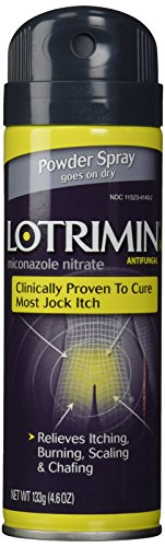 Lotrimin AF Antifungal Powder Spray for Jock Itch, 4.6 Ounce