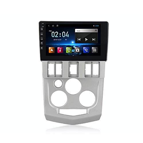 Flower-Ager Autoradio 2 DIN Car Stereo per Renault L90 1080P HD Touch Screen Supporto FM/RDS/DSP con Bluetooth Vivavoce/Comandi al Volante+Collegamento Specchio,M100,1+16G