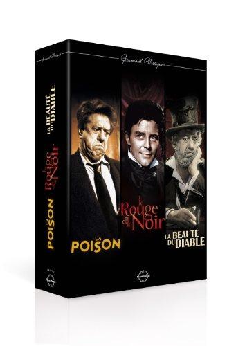 Coffret gaumont classiques français ; la beaute du diable ; la poison ; le rouge et le noir [FR Import]