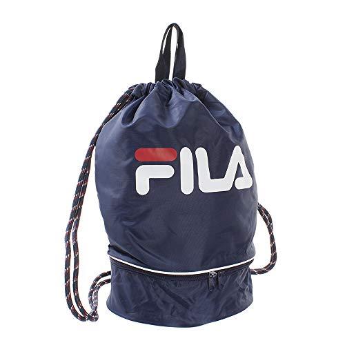 スクール対応・FILA(フィラ)プールバッグ 2重底 129-539 NVネイビー