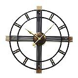 Wdszb Reloj de Pared para jardín al Aire Libre, Reloj de jardín...