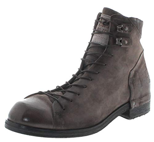 FB Fashion Boots Herren Schuhe A.S.98 409214 Lederstiefelette Schnürschuhe Grau inkl. Schuhdeo 44 EU