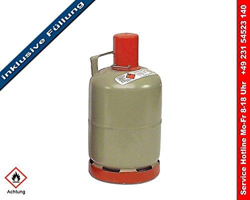 Propangas 5 kg Eigenflasche - gefüllt - UN1965
