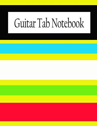 Blank Guitar Tab Notebook