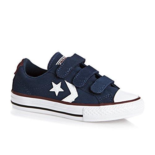 Converse - Schuhe mit Klettverschluss für Kinder, blau - blau - Größe: 36