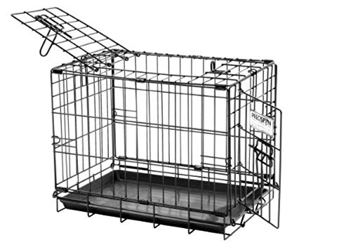 Precision Pet 2Door ProValu2 Crate  Black  19quot x 12quot x 14quot