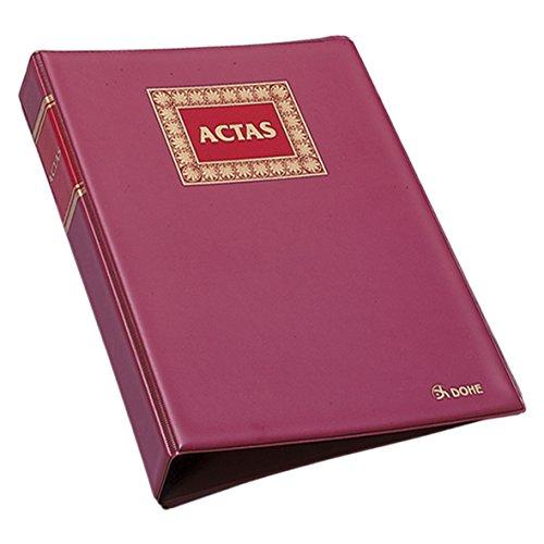 Dohe 9922 - Libro de actas, Hojas recambiables, 100 hojas, A4 natural
