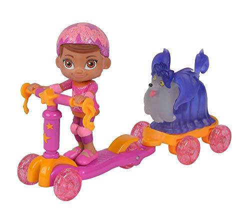 Simba 109422262 Vampirina Roller mit Poppy und Wolfie Spielfiguren, Mehrfarbig
