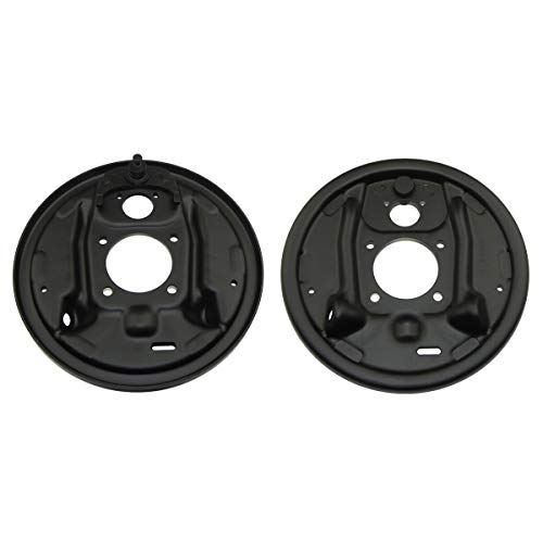 Inline Tube Compatible with 1964-1974 GM Rear Axle Drum Brake Factory Backing Plates SS W30 Judge Plate Pair NOS