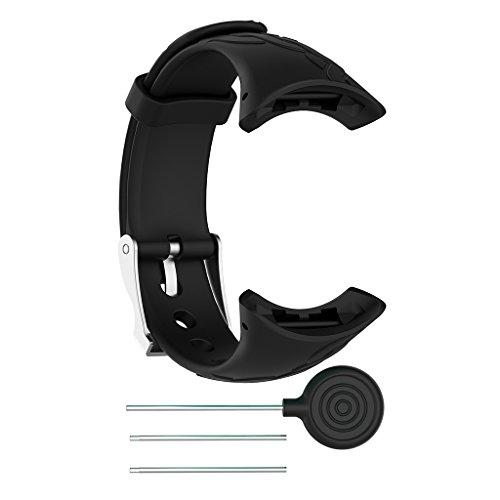 Senoow Cinturino da polso in silicone per SUUNTO Quest M1 M2 M4 M5 M Series Watch Femmina S