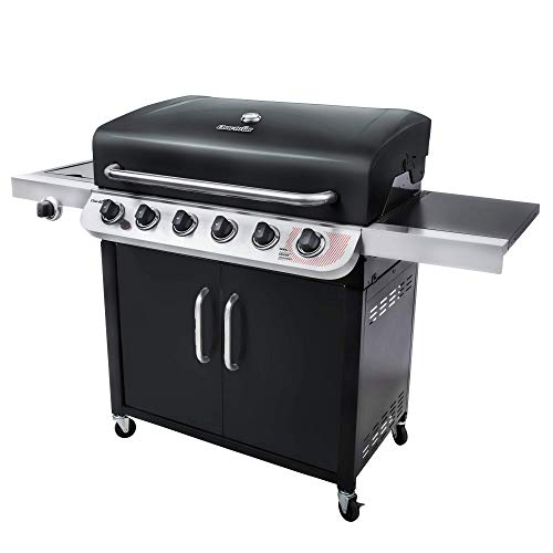 Char-Broil Convective Series 640 B XL – 6 Burner Gas Barbecue Grill, Black Finish
