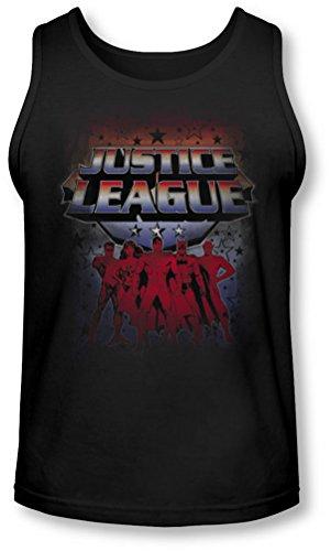 Jla - Star League Tank-Top pour hommes, Small, Black
