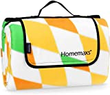<span class='highlight'><span class='highlight'>Homemaxs</span></span> Extra Large Picnic Blanket 200 x 200 cm Waterproof and Portable Foldable Outdoor Blanket for Outdoor Beach Hiking Grass Travel Camping
