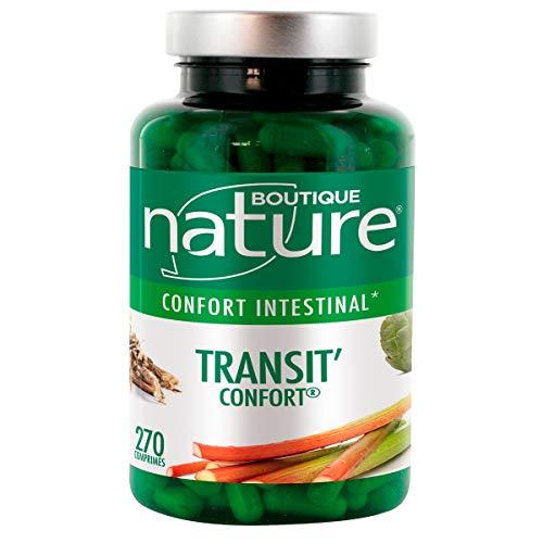 Boutique Nature - Complément Alimentaire - Transit'Confort - 270 Comprimés - Confort Intestinal  -...