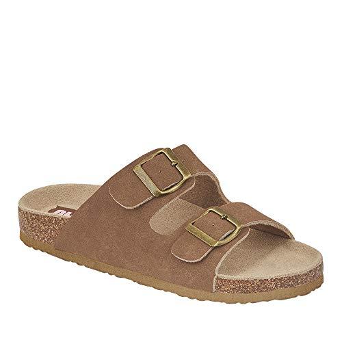 cklass 705-04 Calzado Mujer Sandalia Slip On Hebillas Decorativas Talla: 25