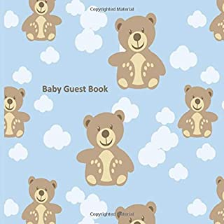 Baby Guest Book: Perfect Baby Shower and Christening Guest Book - Happy Memory Record - Gift Log - Aide Memoir Thank You L...