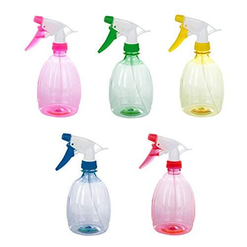 styleinside 5PCS bottiglia spray vuota plastica irrigazione fiori acqua spray per piante da salone