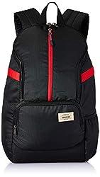 American Tourister Copa 22 Ltrs Black Casual Backpack (FU9 (0) 09 002),Samsonite,FU9 (0) 09 002,bagpack,bagpack for women,bagpacks,bagpacks for college,bagpacks for girls stylish,pubg bagpack level 89,wildcraft bagpacks