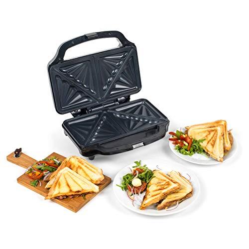 Sandwichera para gran cantidad de relleno Beldray® EK2017SBGP-VDE con conector europeo, 900W