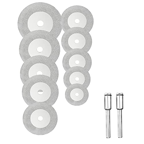 Bestgle 10pcs Mini Hojas en forma de disco para sierra Mini Diamante...