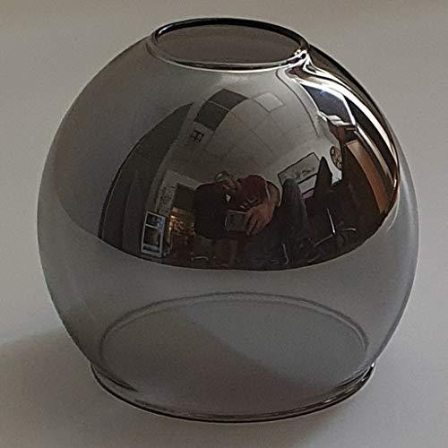 Ersatzschirm E14 Lampenschirm Rauchglas smoke Ersatzglas rauchfarbig/goldfarbig Lampe Pendellampe Lampenglas (rauchfarbig)