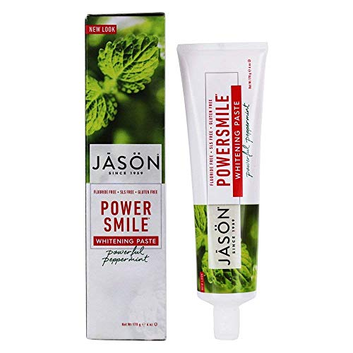 JASONS NATURAL Powersmile Toothpaste 170g (PACK OF 1)