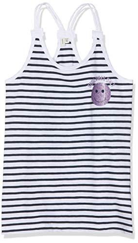 NAME IT Mädchen Nkfhappy Valda Singlet Box LIC Top, Mehrfarbig (Bright White Stripes: Y/D Stripes), 122 (Herstellergröße: 122-128)