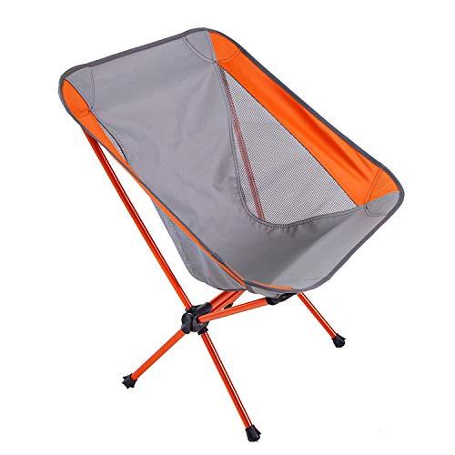 Silla plegable de camping plegable para camping, picnic, barbacoa, senderismo, viajes, pesca,...