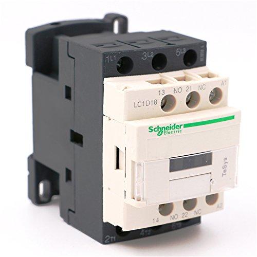 AC Contactor 3P LC1D18 LC1D18E7 LC1-D18E7 - Bobina de CA (18 A, 48 V)