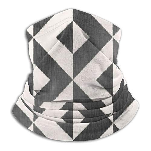 Art Fan-Design Unisex Microfibra Maschera Nordic geometrica mono Bandana Passamontagna Passamontagna Riutilizzabile Panno Traspirante Scudo Copertura Sciarpa per Protezione UV Sole Polvere