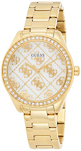 GUESS Guess Woman Watch - Sugar Gold Damen-Armbanduhr 37mm Quarz GW0001L2