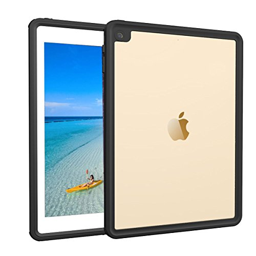 iPad Pro 9.7/iPad Air 2 Waterproof case, AICase Water Resistant IP68 360 Degree All Round Protective Ultra SlimDust/Snow Proof with Lanyard for Apple iPad Pro 9.7'' 2016/iPad Air 2 9.7 Inch 2014