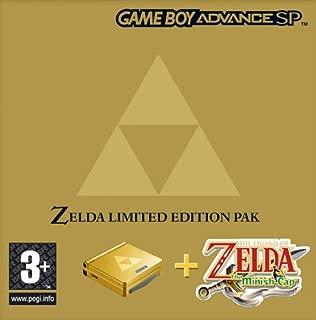Nintendo SP Zelda Minish Cap Hardware Bundle (GBA)