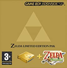 GameBoy Advance - Konsole GBA SP #Zelda Edition inkl. Zelda