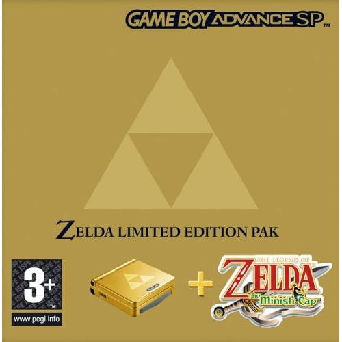 Amazon.com: Nintendo SP Zelda Minish Cap Hardware Bundle ...