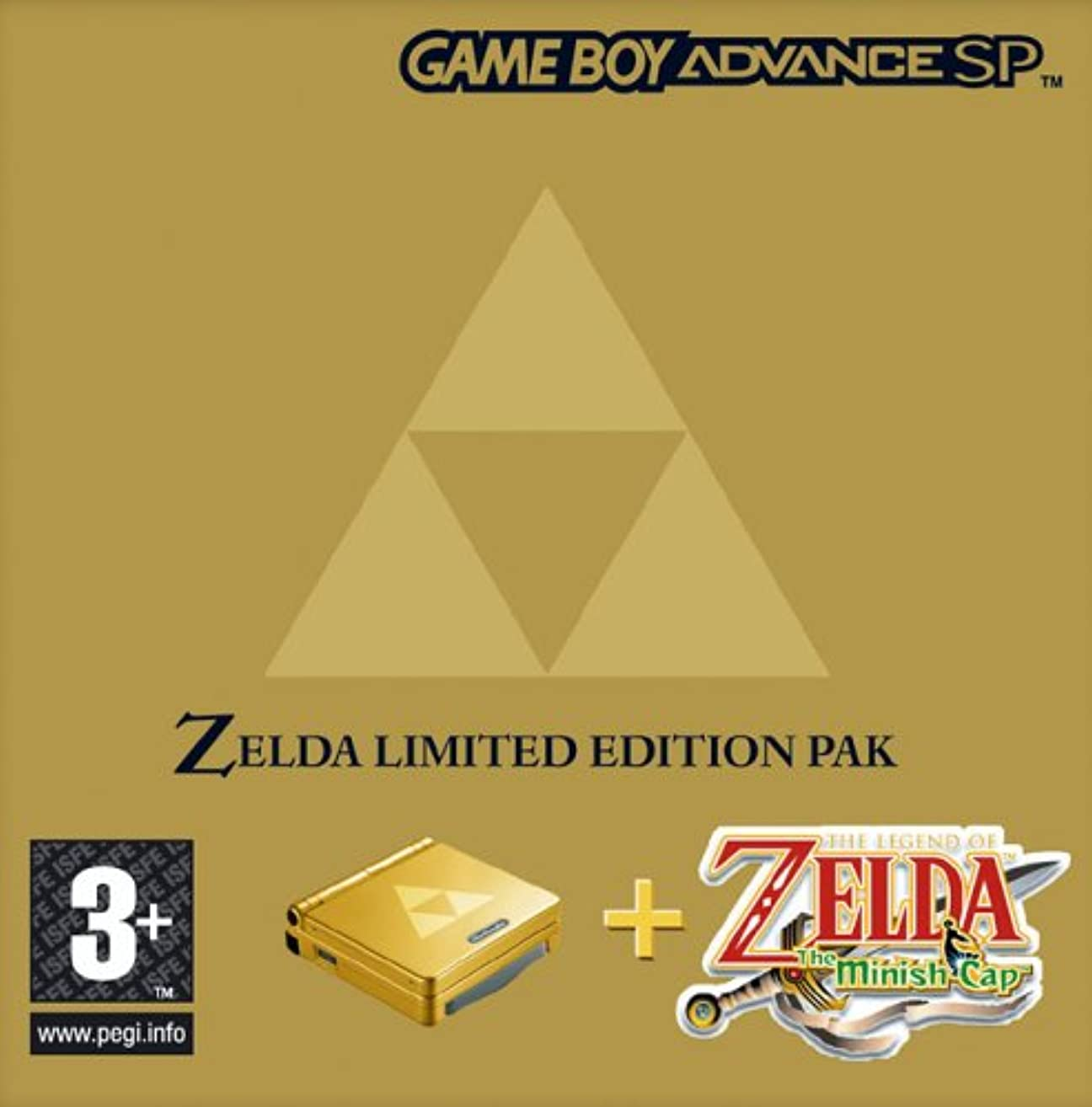 Nintendo SP Zelda Minish Cap Hardware Bundle (GBA)