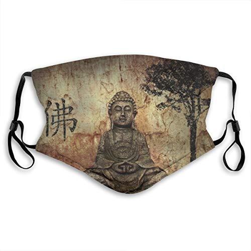 YZ-MAMU Peaceful Buddha Outdoor Multifunctional Comfortable Adjustable Facial Decorations for Adult