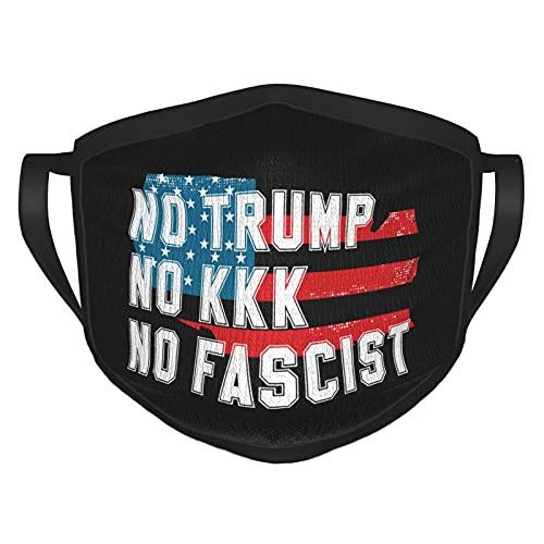No Trump No Kkk No Fascist Usa Adult Dust Masks Washable And Reusable Men And Women Face Masks