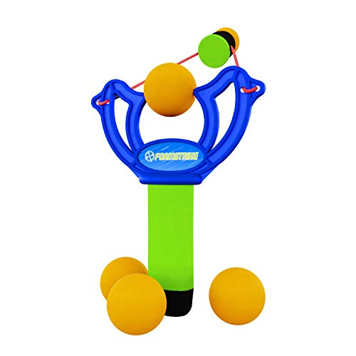 MBS Foamstrike X3 Super Cool Slingshot for Kids and Fun-Loving Adults- Safe Foam Toy Slingshot Provides Hours of Exciting Healthy Exercise- Everyone Loves Sling Shots for Fun and Playful Competition