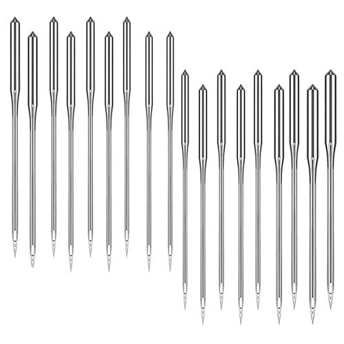 Sewing Machine Needles (60 Count) Universal Regular Point for Singer, Brother, Janome, Varmax, Sizes 65/9, 75/11, 80/12, 90/14, 100/16, 110/18 Ovtel